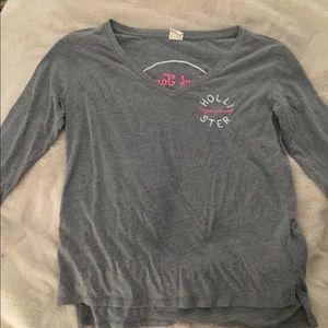 Hollister small grey shirt